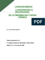 COMO DEBE DE HACERSE UNA VALORACIÓN MÉDICA DE DISCAPACIDAD O INCAPACIDAD FM   Y SFC