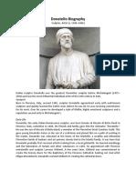 Donatello Biography