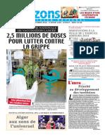 Journal Horizons Du 15-10-2018