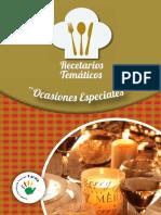 RECETARIO OCASIONES ESPECIALES