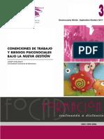 Condiciones de trabajo y riesgos psicosociales de trabajo bajo la nueva gestión.pdf