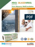 DriTherm® Premium Masonry Wall Insulation
