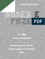 Caderno Professor Saber e Fazer 7A