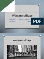 Women's Suffrage 1