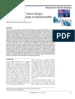 Onset Patterns of Chronic Fatigue Syndrome and Myalgic Encephalomyelitis