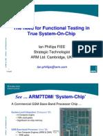 Arm Functional_testing in True SoC