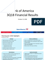 BofA Q3 2018 Presentation