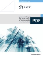 Commercial Management Construction 1st Edition PGguidance 2016