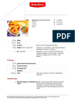 Orangen Pie