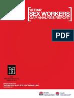 2011 Sex Workers Gap Analysis Report