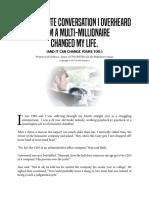 4 Minute Convo Millionaire
