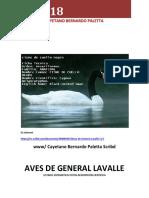 Aves de General Lavalle l. y f.