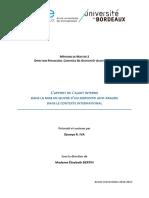 Mémoire de fin d'études - Année Universitaire 2016/2017