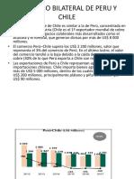 Comercio Bilateral de Peru y Chile