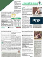 HOJA DE MISA DOMINGO 7-cotubre-2018.pdf