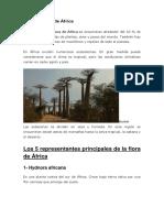 Flora y Fauna de África.docx