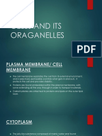 Cells and its organelles