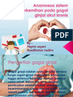Anamnesa sistem perkemihan pada gagal ginjal akut kronis.pptx