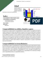 Compresibilidad - Wikipedia, La Enciclopedia Libre