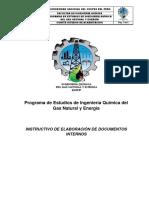 Instructivo de Elaboración de Documentos