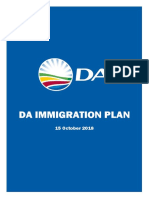 DA Immigrantion Plan 15 October 2018