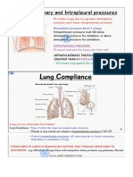 Intrapleral Intrapulmunary Lung Compliance
