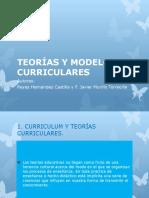 TEORÍAS Y MODELOS CURRICULARES