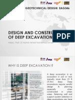 1. Deep Excavation