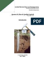 Introducción Geología Agrícola