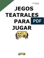 53716907 Juegos Teatrales Para Jugar