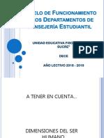 MODELO de Funcionamiento DECE 2018
