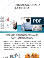 Diseño Organizacional a La Medida