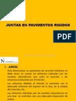 PAVIMENTOS Cap.v Juntas en Pavimentos Rigidos