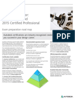 Autodesk Inventor 2015 Certification Roadmap