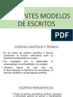 DIFERENTES MODELOS DE ESCRITOS.pptx