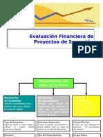 Evaluación Financiera de Proyectos de Inversión