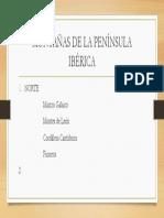 MONTAÑAS DE LA PENÍNSULA IBÉRICA.pptx