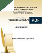 INFORME FINAL DE PASANTÍAS REALIZADAS EN LA  EMPRESA SYSPARKS ECUADOR 27-09-2017.docx