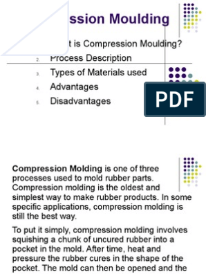 Compression Moulding | Amorphous Solid | Materials