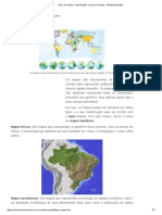 Tipos de Mapas. Classificação e Tipos de Mapas - Mundo Educação