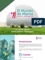 Brochure - El Mundo de Mama Agosto 2018.pdf