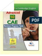 Cambridge Cae Revision Progress Tests With Keys