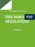 Tree Removal Stonnington Council Regulations - Summary[1]