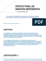 Proyecto Final de Programacion Matematica