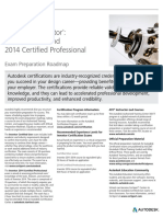 Autodesk Inventor 2014 Certification Roadmap Web