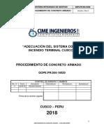 Gope.pr.004-16020 Procedimiento de Concreto Armado