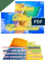 MS Windows Desktop Environment