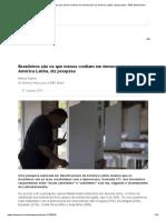 8. Brasileiros São Os Que Menos Confiam Em Democracia Na América Latina, Diz Pesquisa - BBC News Brasil