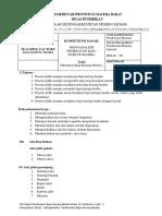 Job Sheet Teknik Menjahit