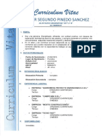 Cv Wilder Segundo Pinedo Sanchez